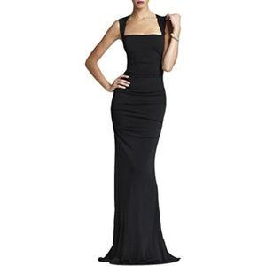 Nicole Miller Felicity Black Gown